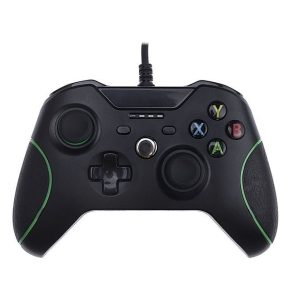 Wired USB Gaming Controller for PC & Xbox One  Black - Games Arena