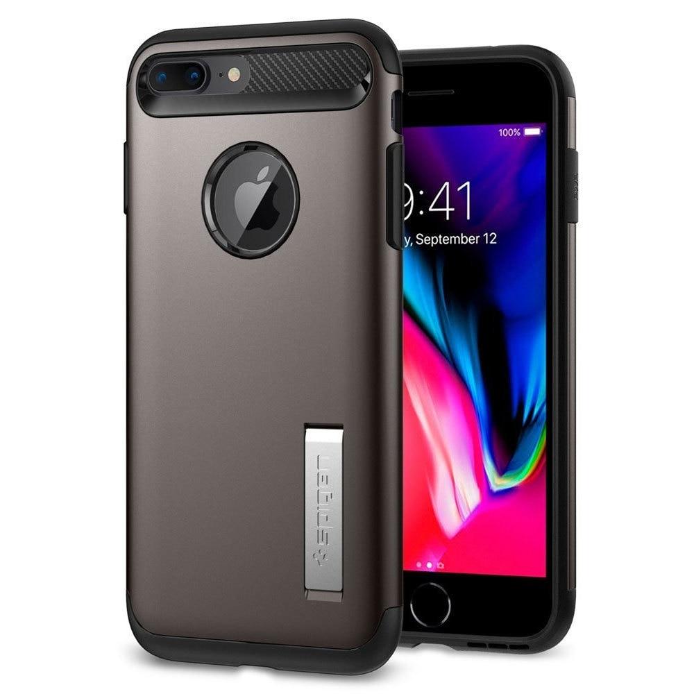 Apple iPhone 8 Plus / 7 Plus Spigen Slim Armor Case - Gunmetal