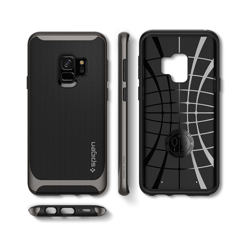 Samsung Galaxy S9 Spigen Original Neo Hybrid Dual Layer Case - Gunmetal