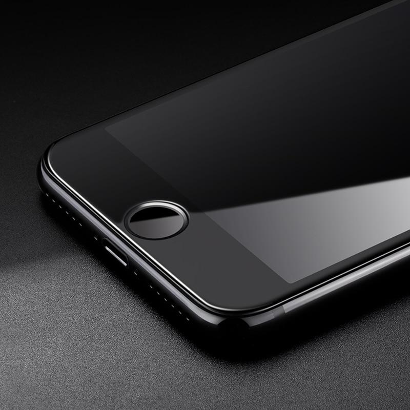 Mocolo iPhone 8 Edge to Edge Tempered Glass - Black