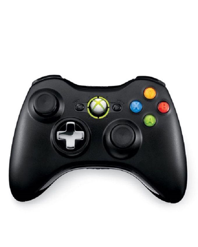 Microsoft Xbox 360 Ultra Slim J/Tag  One Extra Controller 10 Games Inclusive  500 GB (HDD) Black