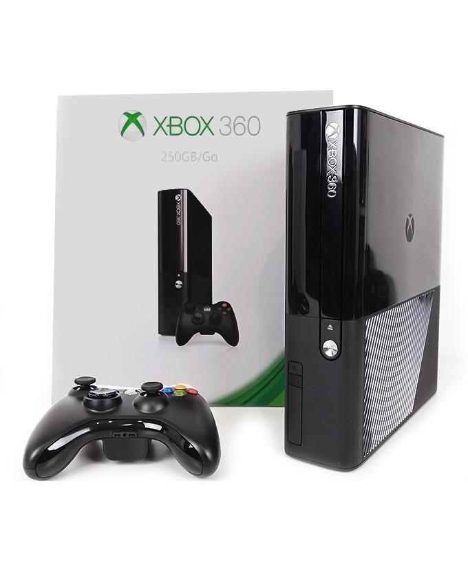 Microsoft Xbox 360 Ultra Slim 250 GB(HDD) Black (Unmodified)