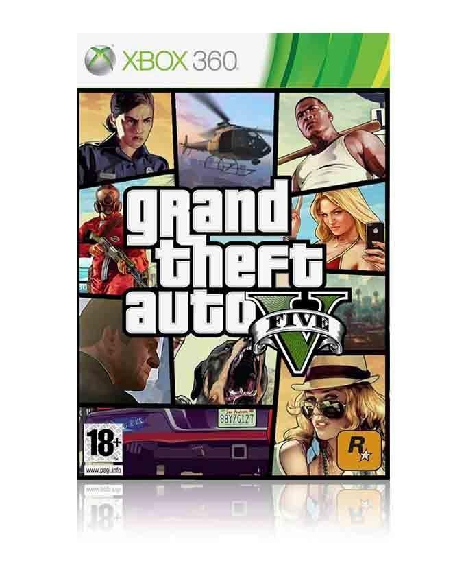 GTA - Grand Theft Auto V For Xbox 360 - Microsoft