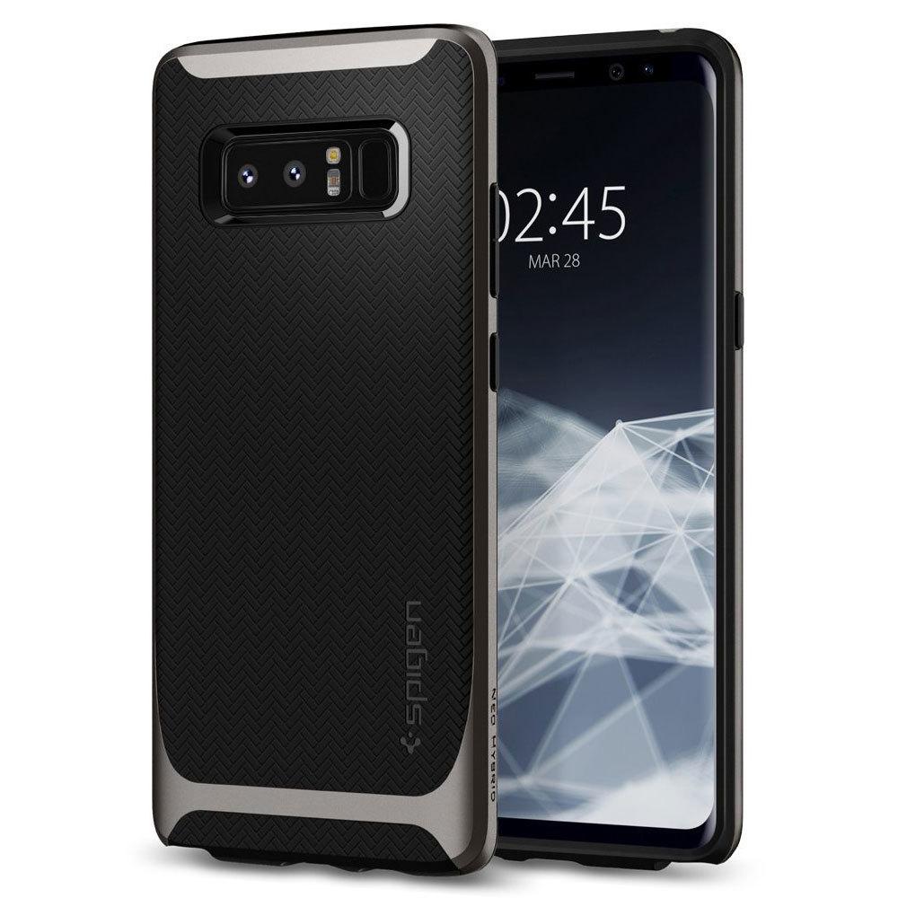 Samsung Galaxy Note 8 Original Spigen Case Neo Hybrid - Gunmetal