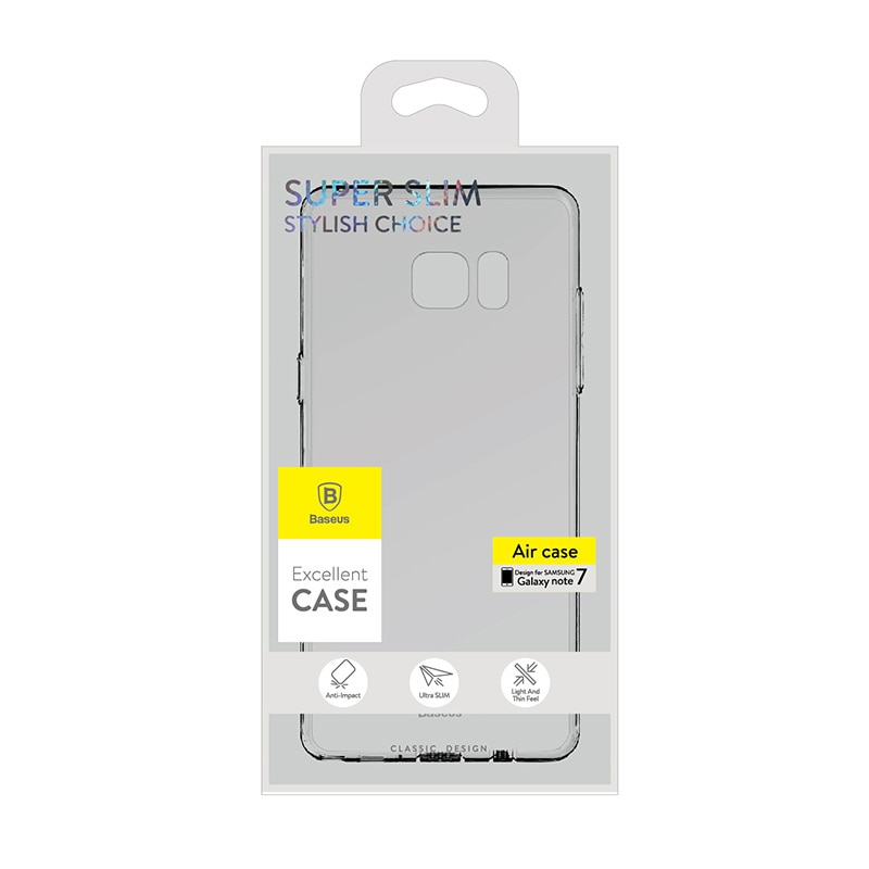 Baseus Air Case Silicon Cover for Samsung Galaxy Note 7 - Transparent Clear