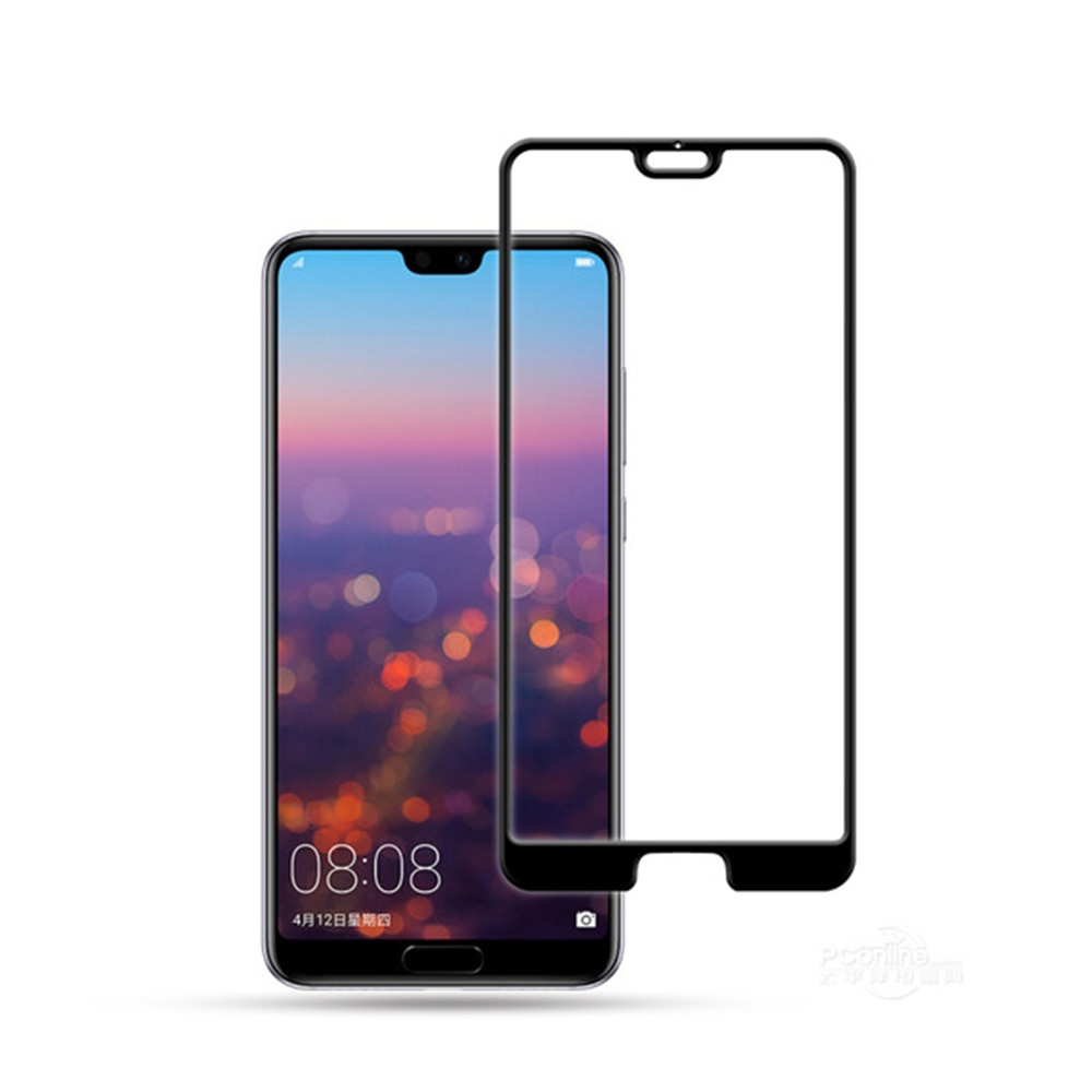 Mocolo Huawei P20 Pro 3D Edge to Edge Tempered Glass - Black