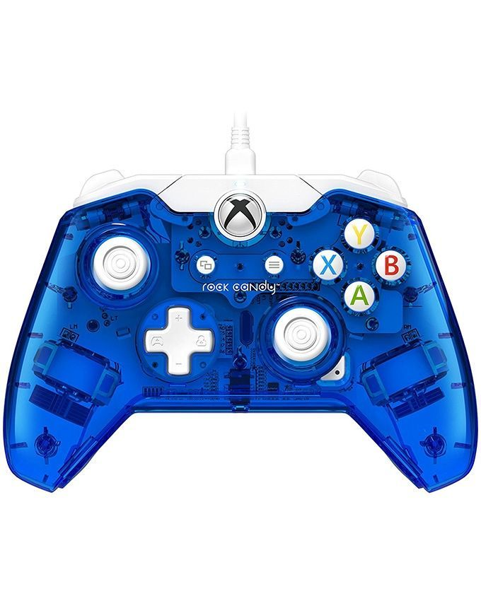 Xbox One Rock Candy Wired Controller  Blueberry Boom -  PDP