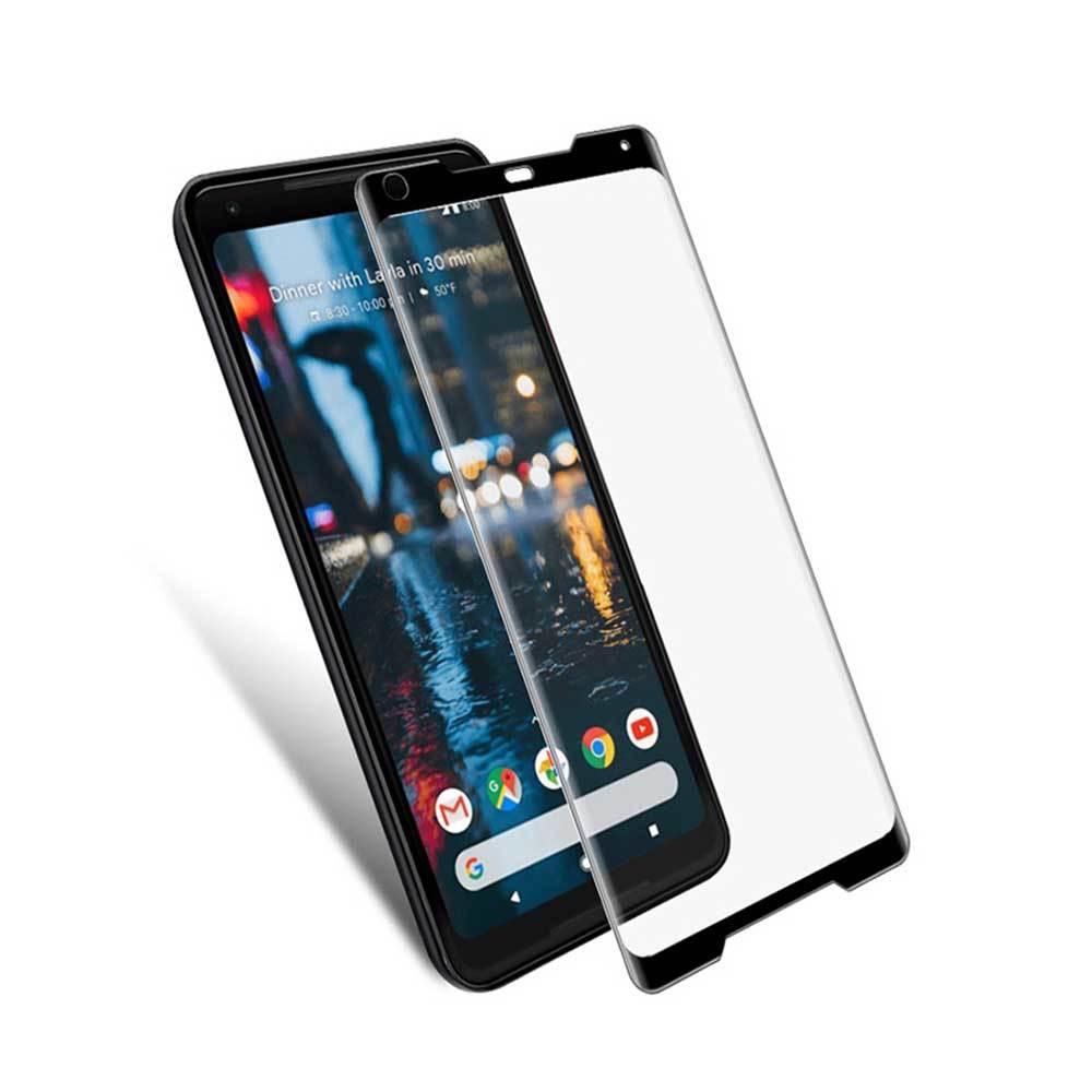 Mocolo Google Pixel 2 XL 3D Edge to Edge Tempered Glass - Black