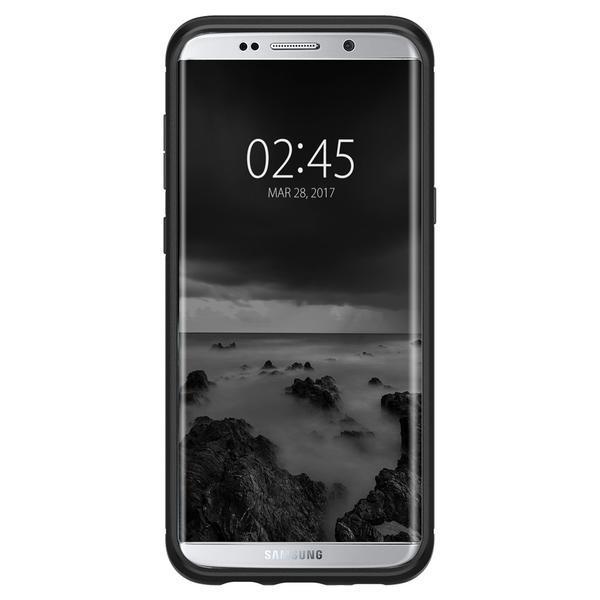 Samsung Galaxy S8 Plus Spigen Rugged Armor Case - Black