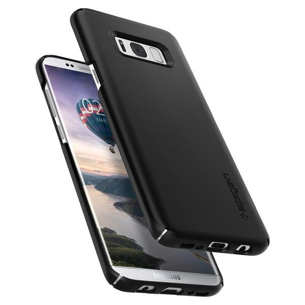 Samsung Galaxy S8 Plus Spigen Original Thin Fit Case - SF Black