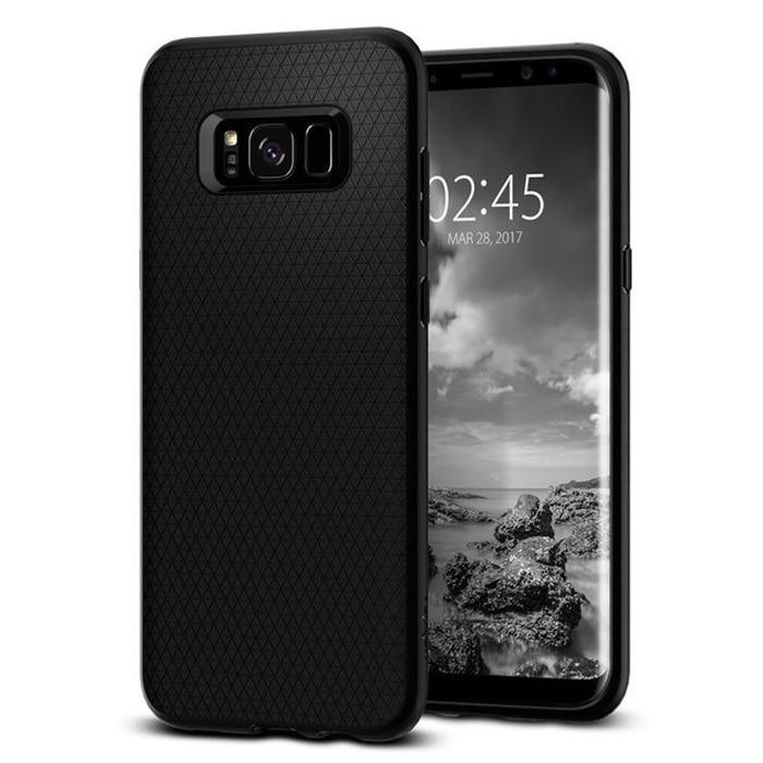 Samsung Galaxy S8 Plus Spigen Liquid Air Case - Black