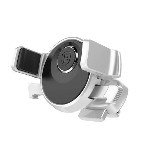 Baesus Universal Car Phone Holder Mechanical Era Auto Clip 360 Degree Rotation Cold Air Vent Car Mount