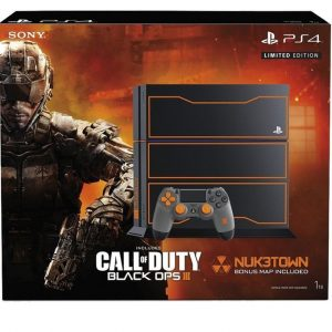 Sony Playstation 4 Call of Duty Black Ops III 1TB(HDD)  Limited Edition Bundle Black
