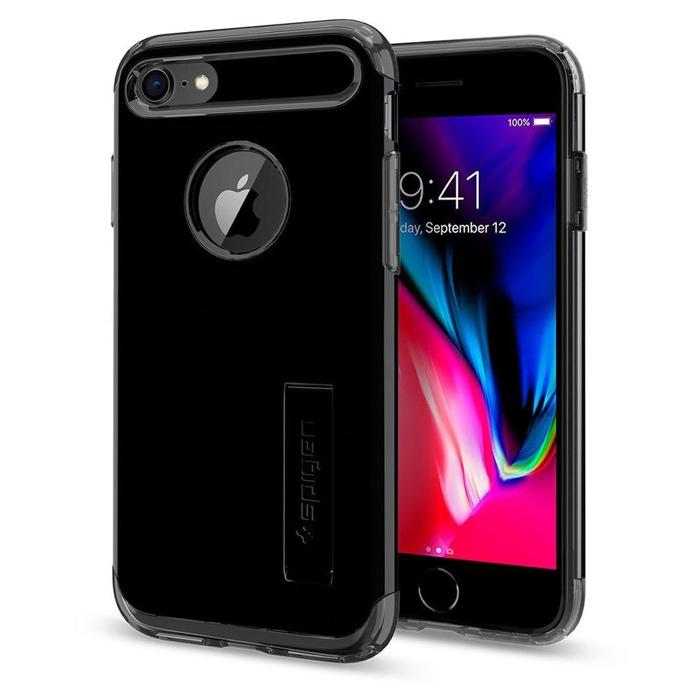 Apple iPhone 8 / 7 Spigen Slim Armor Case - Jet Black