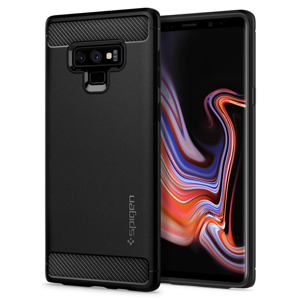 Samsung Galaxy Note 9 Spigen Rugged Armor Case - Matte Black.