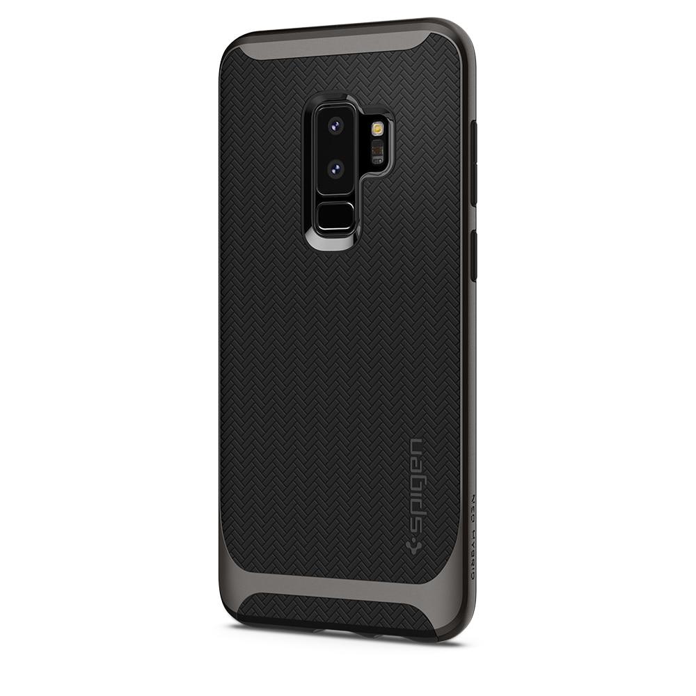 Samsung Galaxy S9 Plus Spigen Original Neo Hybrid Dual Layer Case - Gunmetal