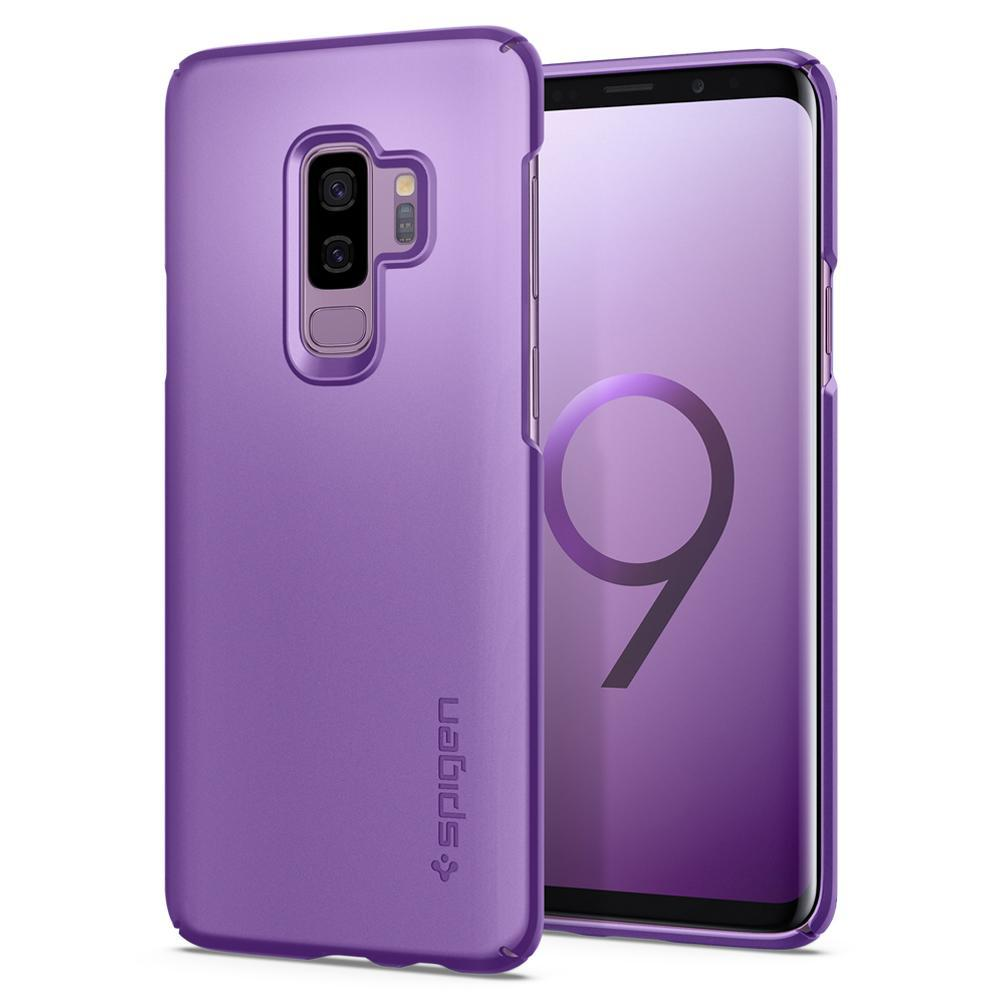 Samsung Galaxy S9 Plus Spigen Original Thin Fit Case - Lilac Purple