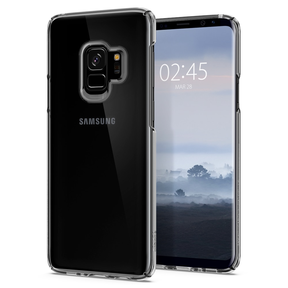 Samsung Galaxy S9 Spigen Original Thin Fit Case - Crystal Clear