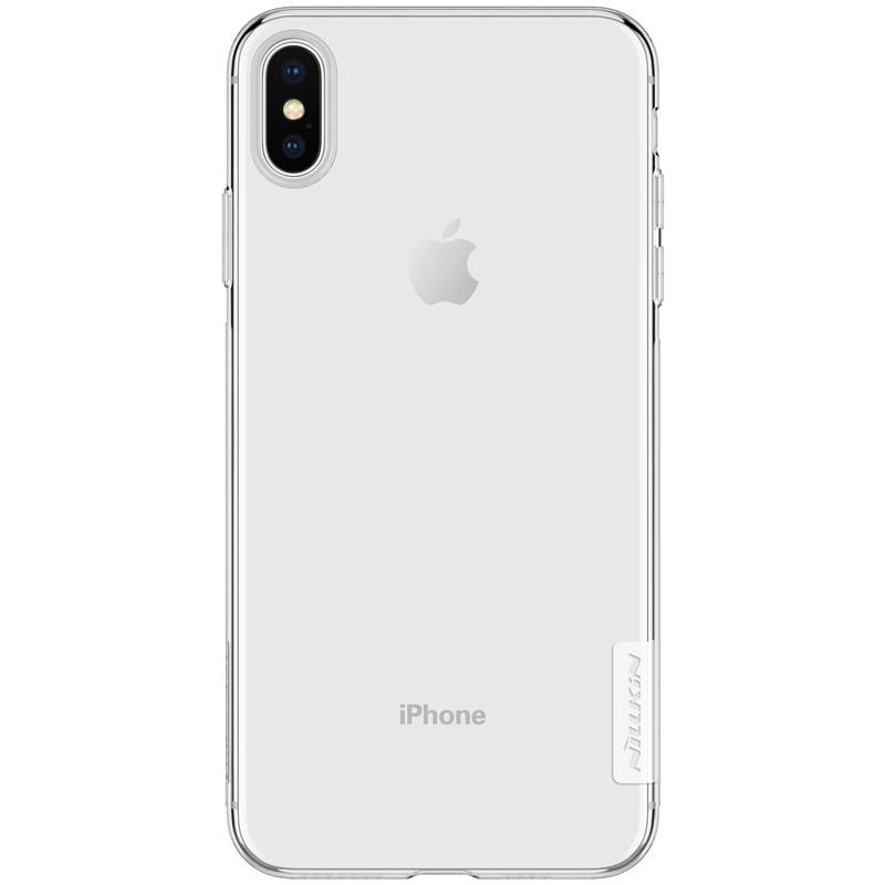 Apple iPhone XS MAX Premium Silicon Cover - Transparent
