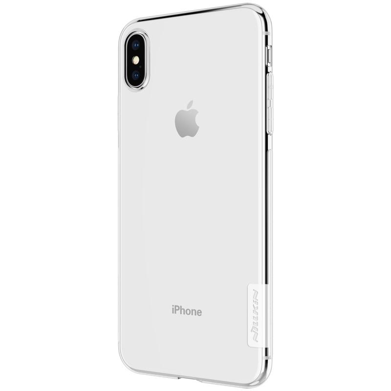 Apple iPhone XS Premium Silicon Cover - Transparent