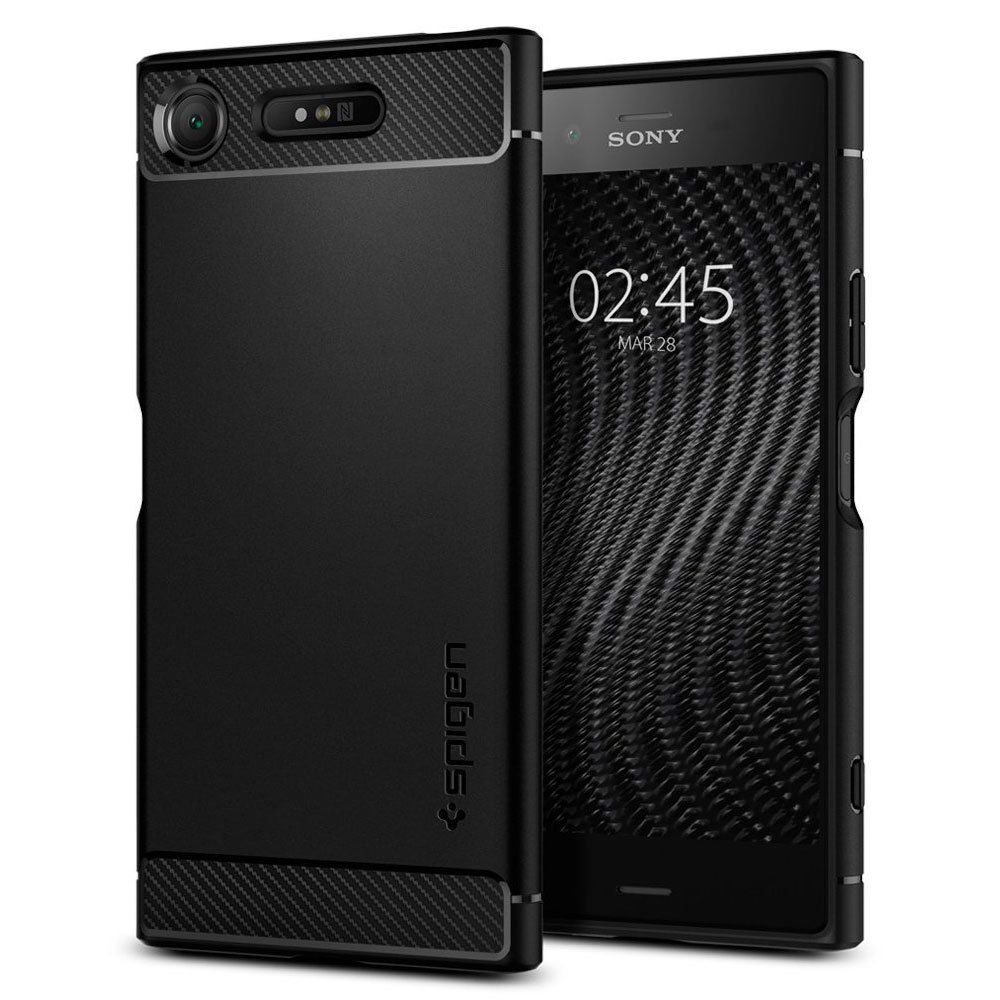 Sony Xperia XZ1  Spigen Rugged Armor Case