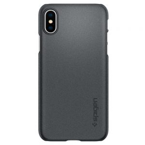 iphone xs thin fit graphite gray