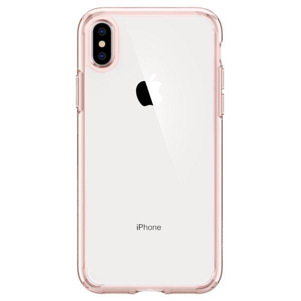 iphone xs max ultra hybrid rose crystal