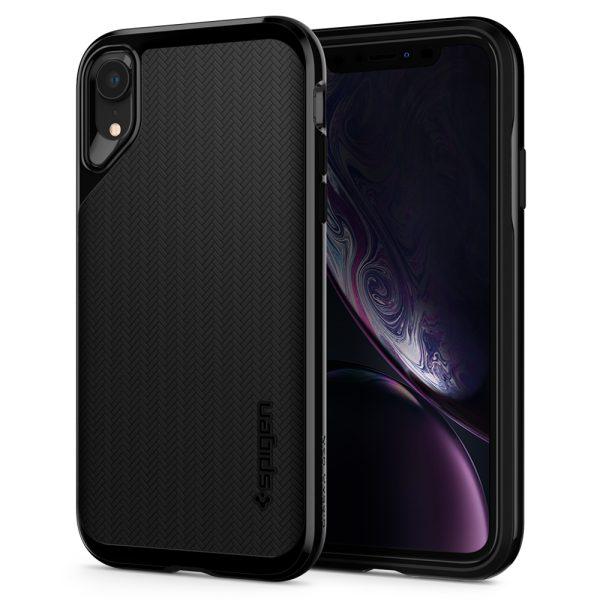iphone xr neo hybrid jet black