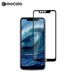 nokia 5.1 plus glass protector 3d full glue