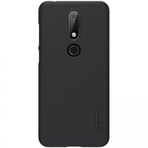 nokia 6.1 plus black frosted shield cover