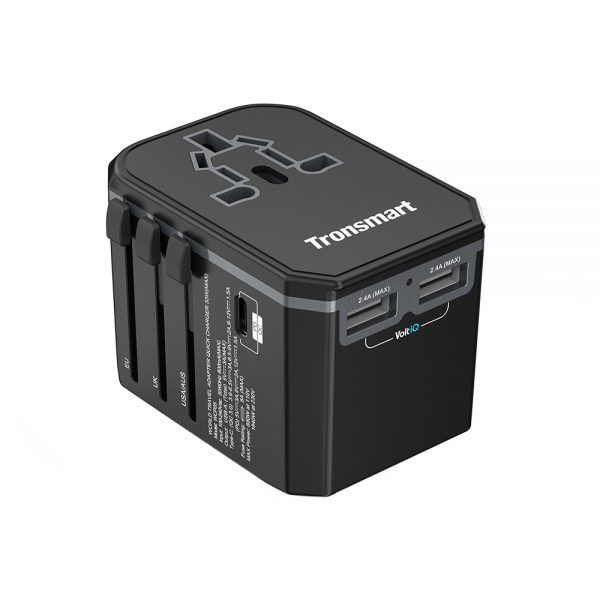 universal travel charger adapter by tronsmart