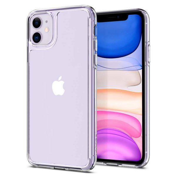 quartz hybrid iphone 11 crystal clear glass back case iphone 11