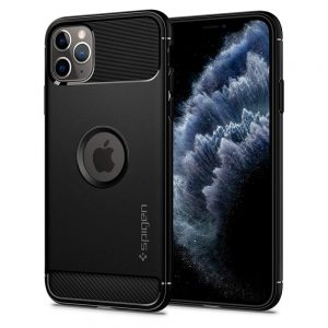 iphone 11 pro max rugged armor case by spigen