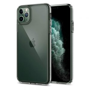 iphone 11 pro max ultra hybrid crystal clear case