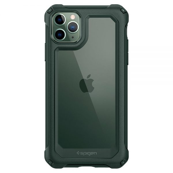 spigen gauntlet hunter green iphone 11 pro