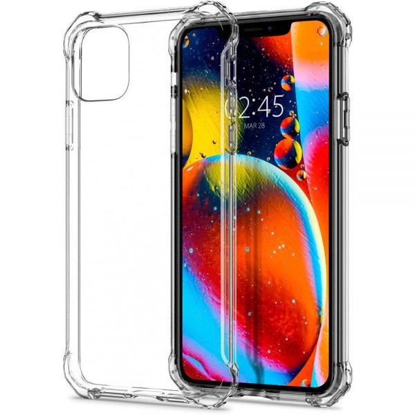 iphone 11 pro max rugged crystal by spigen drop protection case