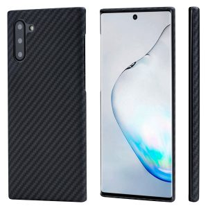 note 10 magez case by pitaka made from pure aramid fiber