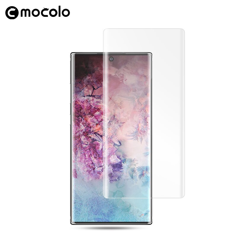 note 10 plus uv light glass by mocolo