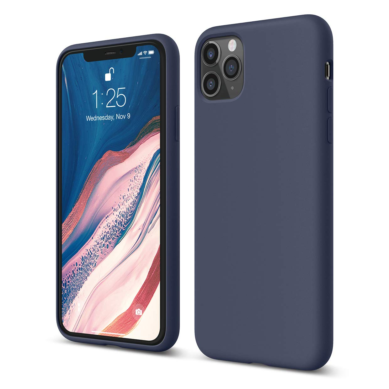 x fitted silicon case iphone 11 pro max