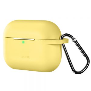 bounce series yellow airpods pro case silicon