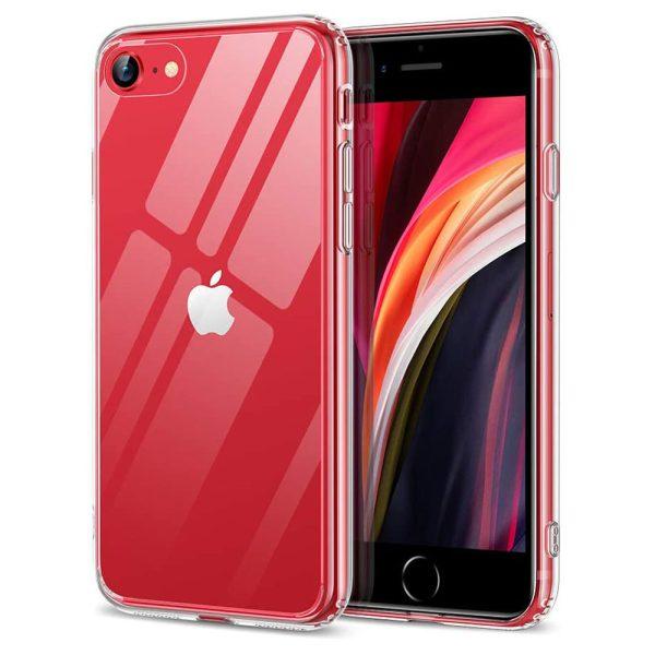iphone se glass case mimic series ice shield case by esr